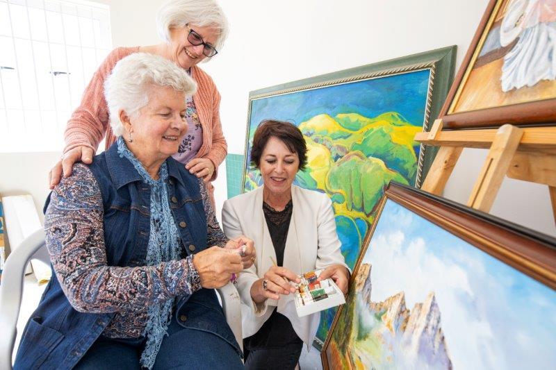 R1 2019 HIG Groenkloof Retirement George Hub Facilities Art